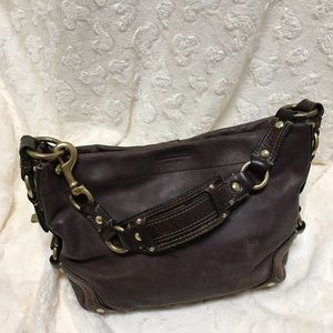 Coach Carly leather bag